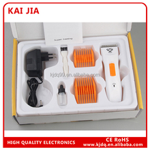 recharable professional and durable Pet hair trimmer for cat and dog