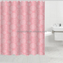 Bathroom hotel shower curtain home goods hotel goods bath polyester sheer curtain, bath shower windows curtain