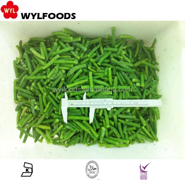 Новый урожай замороженные зеленые бобы