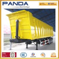 China hot seeling sand rear dump semi trailer/cargo semi trailer