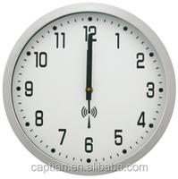 musical wall clock with radio controlled quartz clock movement