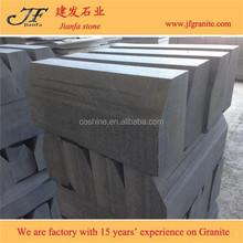 Popular standard Padang dark G654 granite kerbstone