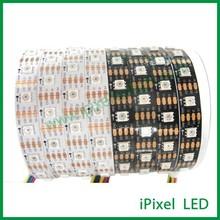 5v 14.4w/m addressable full color apa102 60leds & 60ic led strip