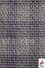 100% Cotton Seersucker Yarn Dyed Fabric Plaid Check