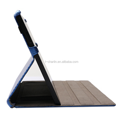 New design for MICROSOFT Surface Pro 3 leather tablet case with handstrap and penholder