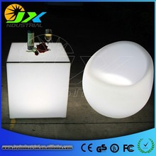 Glowing Led Cube Furniture/Flashing Led Ice Cube With Light/Illuminated Cube Chair With Table