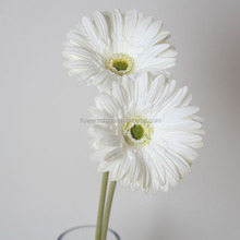 PU material artificial gerbera flower plastic funeral flower wholesale