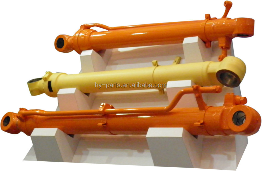 Hydraulic Arm With Popsicle Sticks : Hydraulic boom arm bucket cylinder assemble for excavator