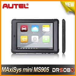 High quality autel Analysis System mini version Maxisys MS905 with obd2 bluetooth update online brand new and original
