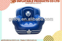 PVC inflatable comfortable single portable air sofa EN71 approved