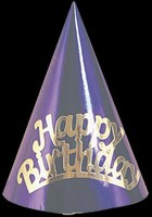 Happy Birthday Foil Hats