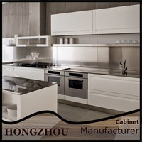 Knock Down MDF Small Modern Kitchen Cabinet Designs