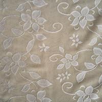 2015 new design 9/91 spandex nylon floral patern jacquard fabric, lady's dress jacquard fabric
