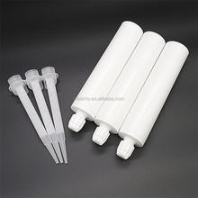 300ml 2:1 one component adhesvie empty plastic silicone sealant cartridge