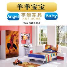 Haute qualité haute brillant peinture mdf kid arabes Style chambre