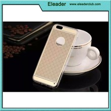 Crystal Clear back cover case for iphone 6, TPU+Acrylic material