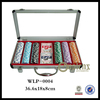 Exquisite Christmas Gift Professional Poker Set in Metal Case