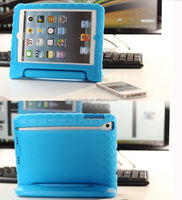 2014 Silicone Rubber Case For Apple iPad Mini Protective Soft Case With Holder Stander For iPad 2 3 4 Kids