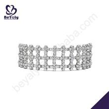 hot sale costume silver jewelry leather bracelet kit