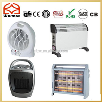 Factory of Electric Room Heater Including Fan Heater,Convector Heater,Ceramic Heater,Quartz Heater,Halogen Heater,Wall Heater