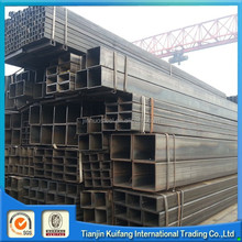 ERW mild low carbon black square steel pipe s235jr with oil