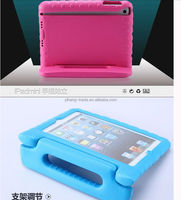 High Quality Silicone Rubber Case For Apple iPad Mini Protective Soft Case With Holder Stander For iPad 2 3 4 Kids