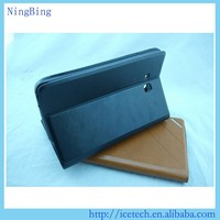 Flip wallet pu leather pc 3d image protective case for apple ipad air 2