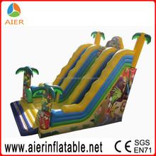 High jungle inflatable slide, tobogan slide