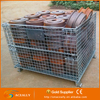Stackable Galvanize Mesh Box Wire Cage Metal Bin Storage Container Metal Cage