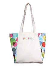 Made in the USA Panel EcoSpun boat tote bag. Constructed out of recycled plastic bottles. Comes with your logo.