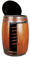 CE/ROHS/CB mini used oak wine barrel 28 bottles wine cabinet with 70L capacity USF-28