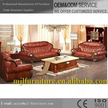 Alibaba china top sell leather recline sofa set