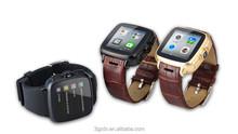 Duad-core wifi smart watch Android4.4 MTK6572 5 mega-pixel camera smart phone watch