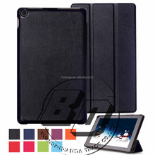 New Arrival Popular PU Leather Wallet And Folio Three folding tablet case For 2015 Amazon New Fire HD 10 fast delivery