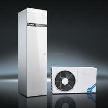 SPRSUN split type household heat pump, refrigerant flow with water tank