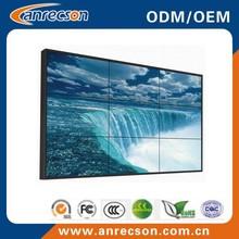 Bezel 3.9mm 46 inch Samsung seamless video wall/ultra narrow bezel video wall