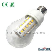 High Quality E27 Led 12V Corn lamp 4W/8W Milky/Transparent cover 2700K WW