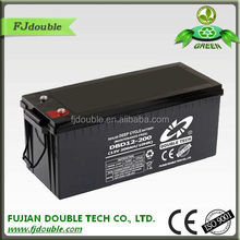 long service life MF sealed 12v 200ah battery for ups and solar