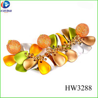 HW3288 plastic cherry accessories sandal chain