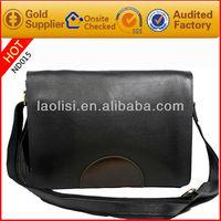 Hot sale pu menssenger bags full grain leather shoulder bags for men