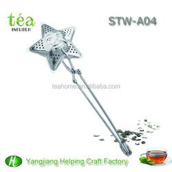 star shape stainless steel tea bag packing machine