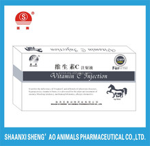 Vitamin C Injection for Animal drugs/veterinary use/poultry of health care products