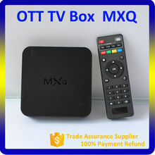 Low Price Android 4.4 TV Box, MXQ TV Box with 2 Years Warranty