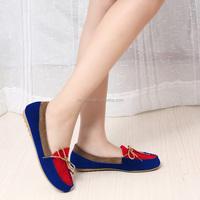 Hot Sale Women Soft Boat Shoes Flat Heel Round Toe Loafers Sweet Flat Shoes High Quality Women Flats