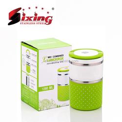 New Design Plastic Round Food Box/Mini Lunch Box