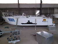 20ft aluminum used cheap fishing boat for sale
