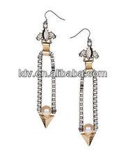2012 Fancy Fashion Long Box Drop Earrings Good price Good Service