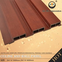 High Quality WPC Indoor Decorative Wood Wall Paneling Interior