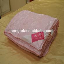 Honglok 100% amoreira seda china colcha de seda artesanal