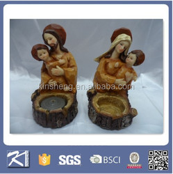 handmade decoration polyresin catholic religious statues